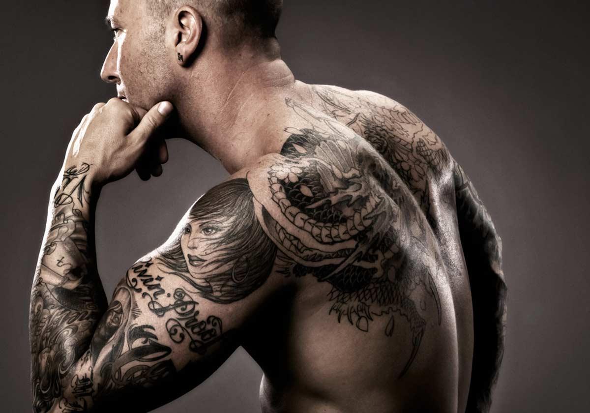 Модерните татуирани джентълмени