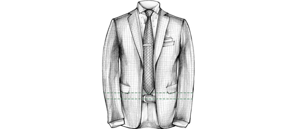 Каква трябва да е дължината на вратовръзката